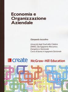 Economia e organizzazione aziendale - Gianpaolo Iazzolino - copertina