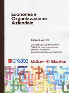 Libro Economia e organizzazione aziendale Gianpaolo Iazzolino