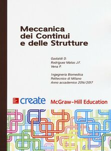 Libro Meccanica dei continui e delle strutture