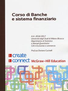 Libro Corso di banche e sistema finanziario Doriana Cucinelli