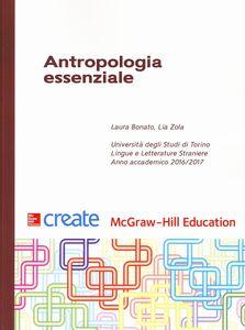 Foto Cover di Antropologia essenziale, Libro di  edito da McGraw-Hill Education