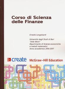 Corso di scienza delle finanze - Ernesto Longobardi - copertina