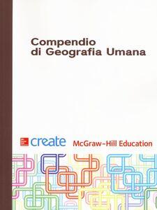 Libro Compendio di geografia umana