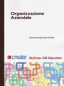 Organizzazione aziendale - copertina