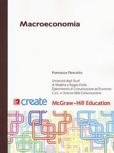 Macroeconomia. Con Connect - Francesca Pancotto - copertina