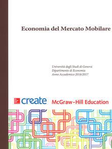Economia del mercato mobiliare. Ediz. inglese. Con connect (bundle) - copertina