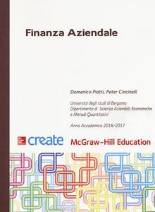 Finanza aziendale - Domenico Piatti,Peter Cincinelli - copertina