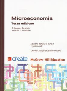 Microeconomia - Douglas B. Bernheim,Michael D. Whinston - copertina