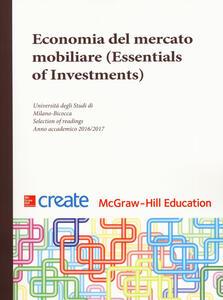 Economia del mercato mobiliare (Essentials of Investments) - copertina