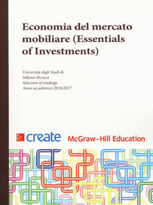 Promoartpalermo.it Economia del mercato mobiliare (Essentials of Investments) Image
