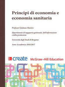 Principi di economia e economia sanitaria - copertina