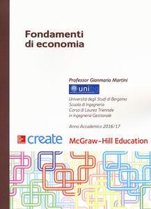 Fondamenti di economia - Gianmaria Martini - copertina