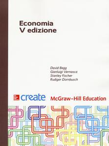 Economia - David Begg,Stanley Fischer,Rudiger Dornbusch - copertina