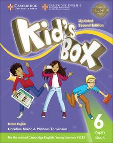 Kid's Box Level 6 Pupil's Book British English - Caroline Nixon,Michael Tomlinson - cover