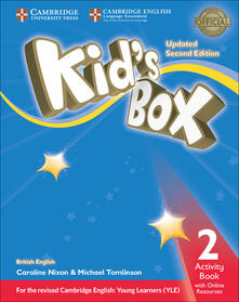 Kid's Box Level 2 Activity Book with Online Resources British English - Caroline Nixon,Michael Tomlinson - cover