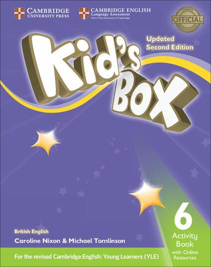 Kid's Box Level 6 Activity Book with Online Resources British English - Caroline Nixon,Michael Tomlinson - cover