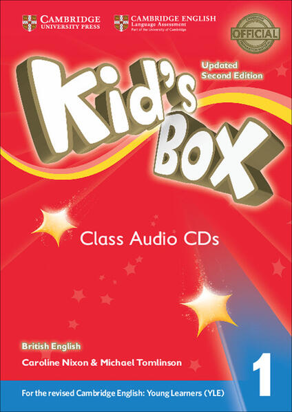Kid's Box Level 1 Class Audio CDs (4) British English - Caroline Nixon,Michael Tomlinson - cover
