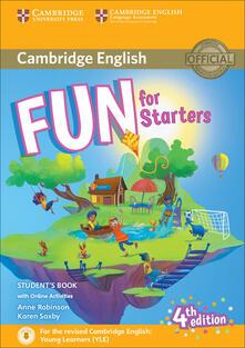 Fun for starters. Student's book. Con espansione online. Con File audio per il download