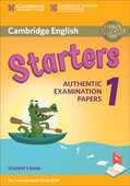 Libro in inglese Cambridge English Starters 1 for Revised Exam from 2018 Student's Book