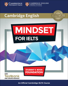 Mindset for IELTS Foundation Student's Book with Testbank and Online Modules: An Official Cambridge IELTS Course - Greg Archer,Joanna Kosta,Lucy Pasmore - cover