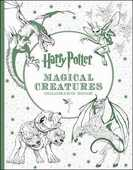 Libro in inglese Harry Potter Magical Creatures Coloring Book Scholastic