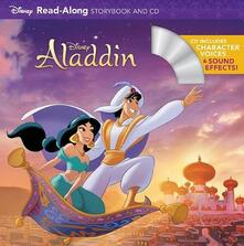 Aladdin Read-Along Storybook and CD - Disney Book Group - cover