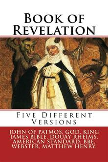 Book of revelation. Five different versions