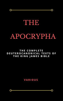 Apocrypha. King James version