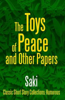 Thetoys of peace and other papers