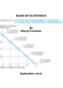 Basis of Economics