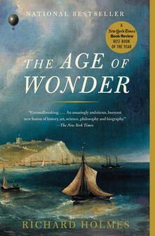 The Age of Wonder: How the Romantic Generation Discovered the Beauty and Terror of Science - Richard Holmes - cover