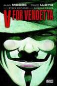 Libro in inglese V for Vendetta Alan Moore