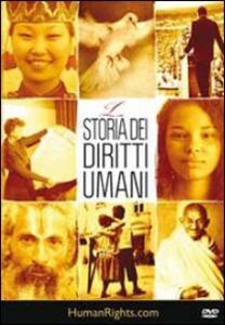 La storia dei diritti umani. DVD - copertina