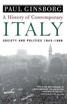 History of Contemporary Italy - Ginsborg Paul - cover