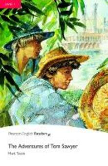 Level 1: The Adventures of Tom Sawyer - Mark Twain - cover