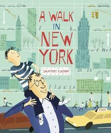 A Walk in New York - Salvatore Rubbino - cover