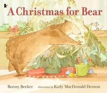 A Christmas for Bear - Bonny Becker - cover