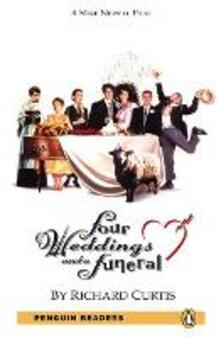Level 5: Four Weddings and a Funeral Book and MP3 Pack - Richard Curtis - cover