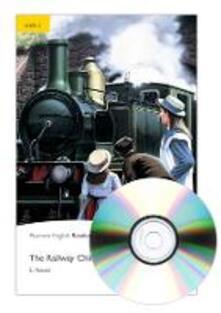Level 2: The Railway Children Book and MP3 Pack - Eleanor Nesbitt - cover