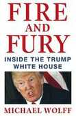 Libro in inglese Fire and Fury Michael Wolff
