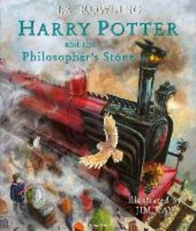 Harry Potter and the Philosopher's Stone: Illustrated Edition - J.K. Rowling - cover