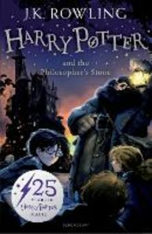 Harry Potter and the Philosopher's Stone - J. K. Rowling - cover