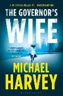 The Governor's Wife - Michael Harvey - cover