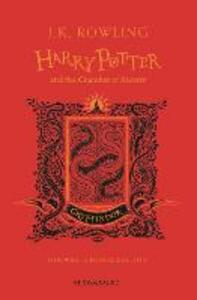 Harry Potter and the Chamber of Secrets - Gryffindor Edition - J.K. Rowling - cover