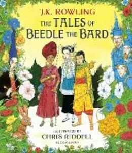 The Tales of Beedle the Bard - Illustrated Edition: A magical companion to the Harry Potter stories - J. K. Rowling - cover