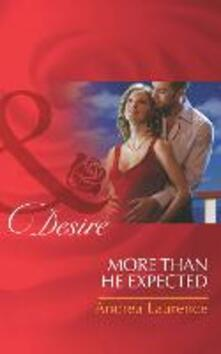 More Than He Expected (Mills & Boon Desire) (Millionaires of Manhattan)