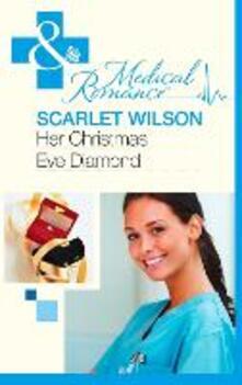 Her Christmas Eve Diamond (Mills & Boon Medical)