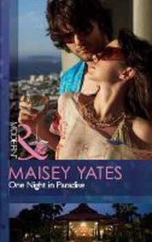 One Night in Paradise (Mills & Boon Modern)