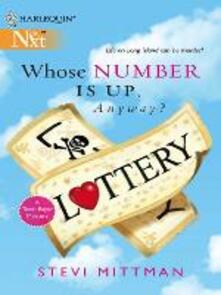 Whose Number Is Up, Anyway? (Mills & Boon M&B)