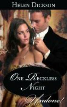 One Reckless Night (Mills & Boon Historical Undone)